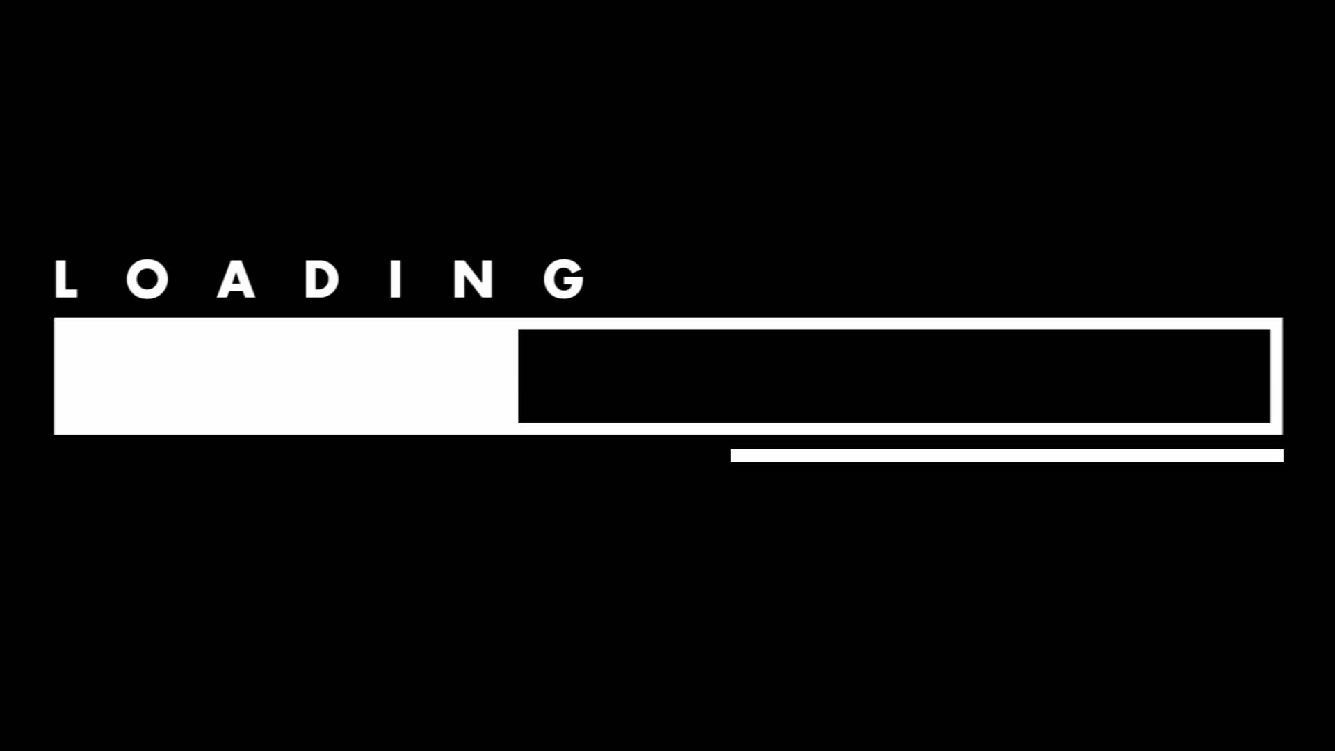 Create a loading scene with a